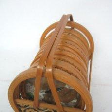 Antigüedades: JUEGO SET POSAVASOS BAMBU. Lote 139236134