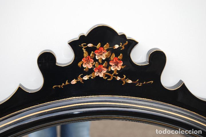 Antigüedades: Antiguo espejo estilo oriental - Foto 2 - 184758140