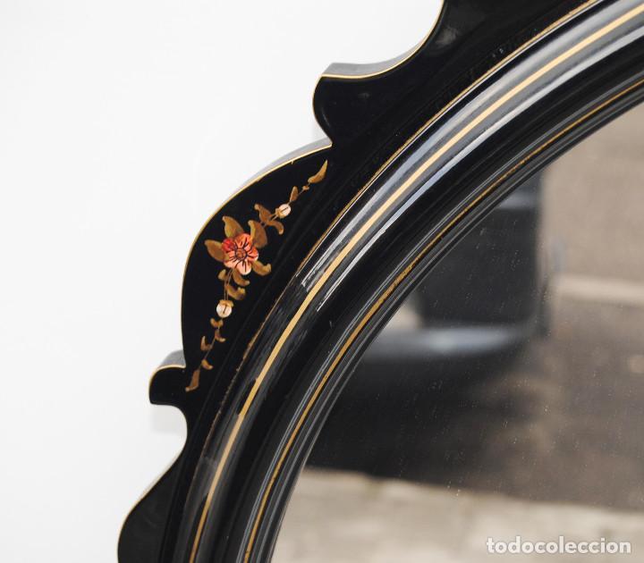 Antigüedades: Antiguo espejo estilo oriental - Foto 5 - 184758140