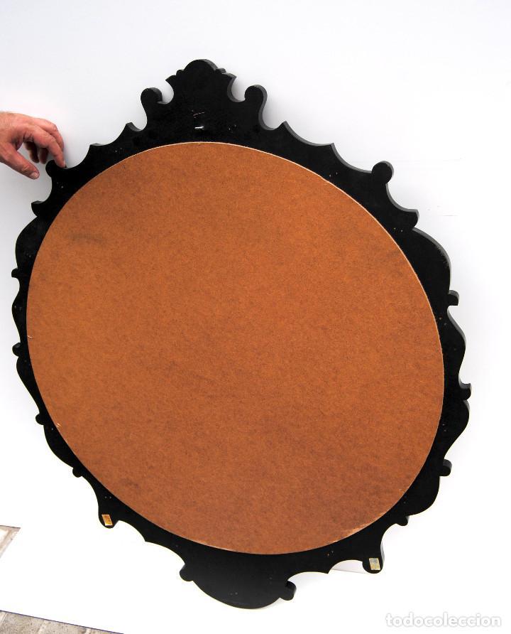 Antigüedades: Antiguo espejo estilo oriental - Foto 6 - 184758140