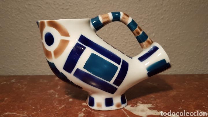 FIGURA DE CERÁMICA SARGADELOS. BUHO. (Antiquitäten - Porzellan und Keramik - Sargadelos)
