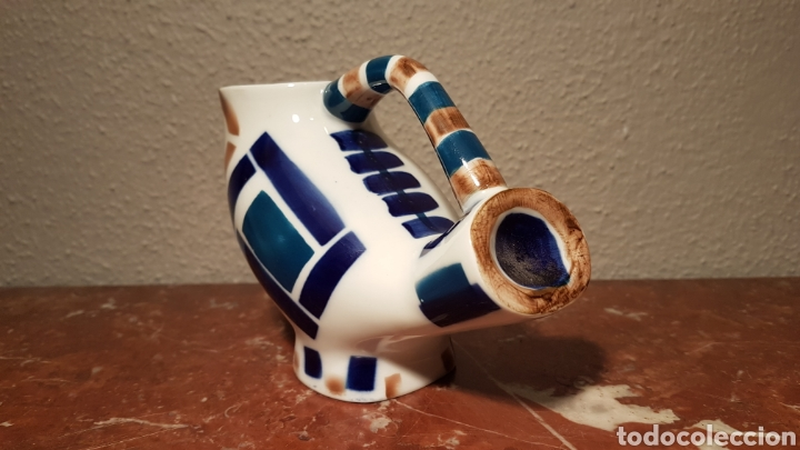 Antiquitäten: FIGURA DE CERÁMICA SARGADELOS. BUHO. - Foto 4 - 139246260