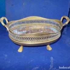 Antigüedades: CENTRO DE MESA ANTIGUO DE BRONCE. Lote 139246586