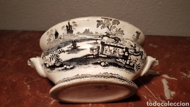 Antigüedades: SALSERA DE SARGADELOS / PICKMAN . SIGLO XIX - Foto 5 - 139247304