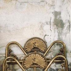 Antigüedades: CAMA DE BRONCE. Lote 139247474