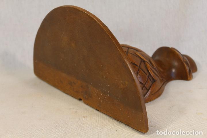 Antigüedades: mensula tallada en madera - Foto 3 - 139258406