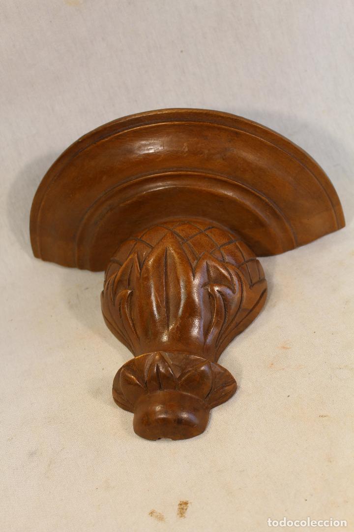 Antigüedades: mensula tallada en madera - Foto 5 - 139258406