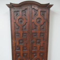 Antigüedades: ANTIGUO ARMARIO RÚSTICO - ALACENA - MUEBLE ESPAÑOL - MADERA DE ROBLE - S. XVII. Lote 139262390