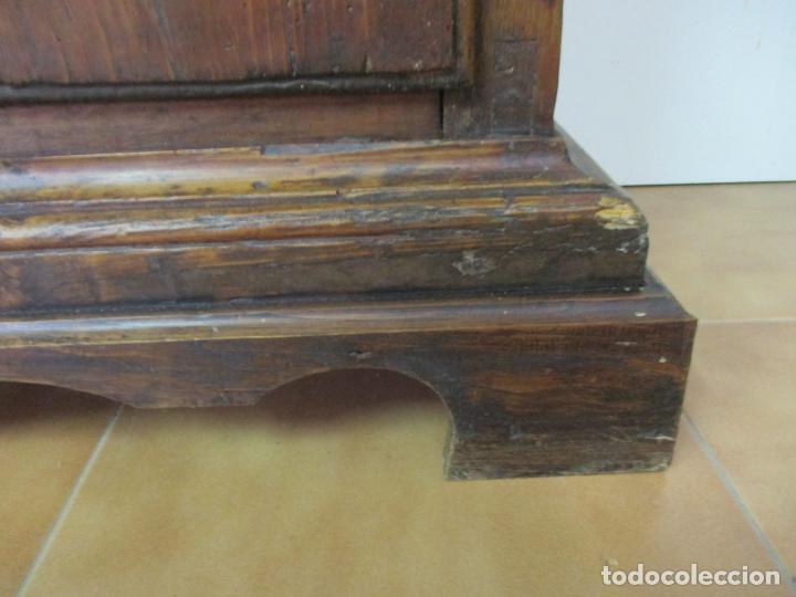 Antigüedades: Antiguo Armario Rústico - Alacena - Mueble Español - Madera de Roble - S. XVII - Foto 3 - 139262390