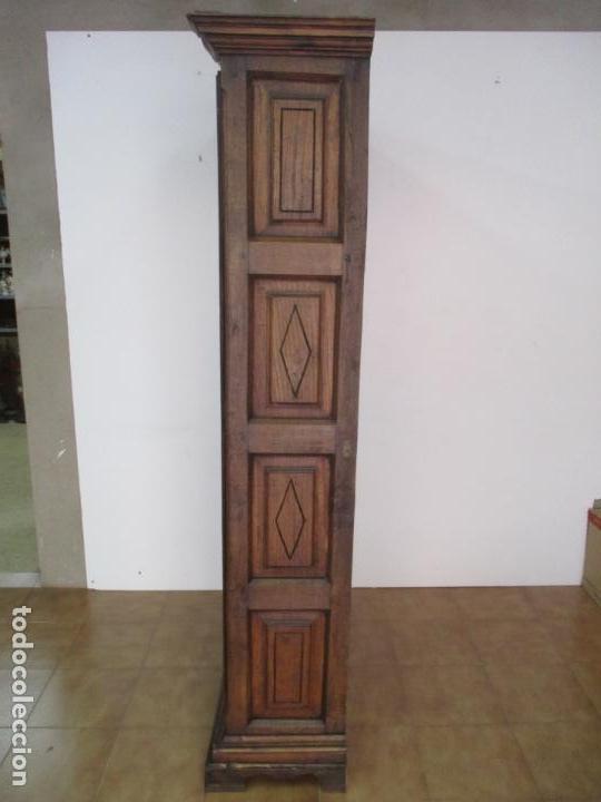 Antigüedades: Antiguo Armario Rústico - Alacena - Mueble Español - Madera de Roble - S. XVII - Foto 30 - 139262390