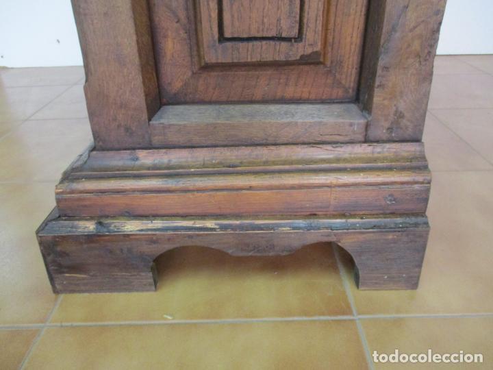 Antigüedades: Antiguo Armario Rústico - Alacena - Mueble Español - Madera de Roble - S. XVII - Foto 31 - 139262390