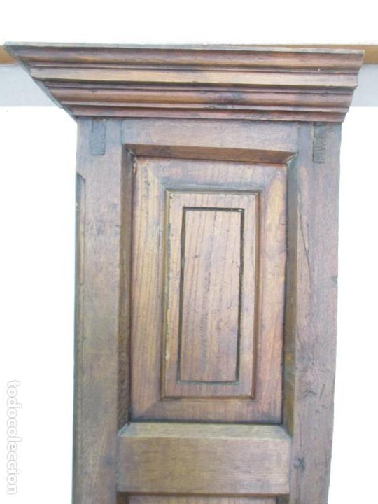 Antigüedades: Antiguo Armario Rústico - Alacena - Mueble Español - Madera de Roble - S. XVII - Foto 33 - 139262390