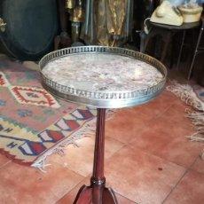 Antigüedades: MESA VELADOR. Lote 139268174