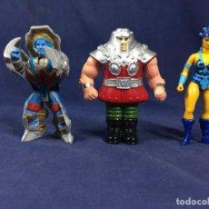 Figuras Masters del Universo: MASTERS DEL UNIVERSO MOTU LOTE FIGURAS EVIL-LYN RAM MAN ROKKON VINTAGE. Lote 139329842