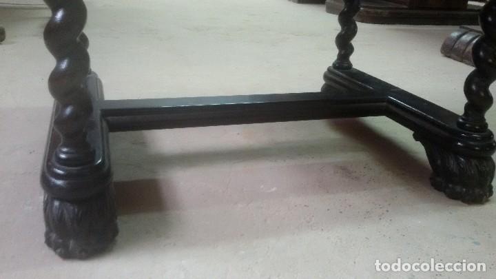 Antigüedades: Juego de dos sillones y banqueta reposapies - Foto 6 - 139345026