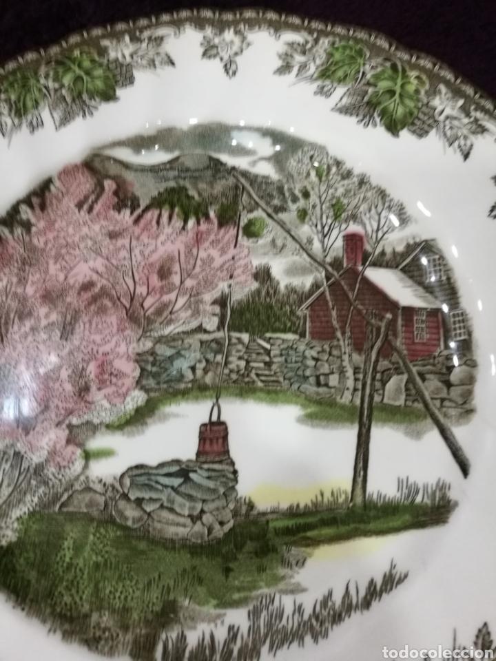 Antigüedades: Plato de cerámica inglesa - Foto 2 - 139359870