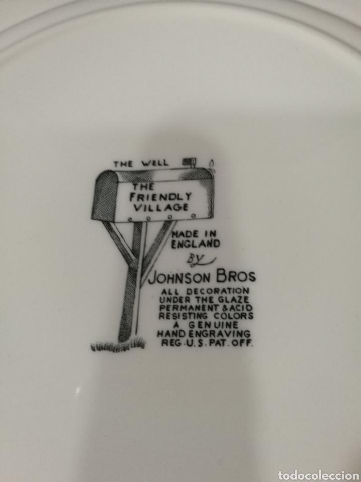 Antigüedades: Plato de cerámica inglesa - Foto 4 - 139359870