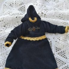 Antigüedades: ANTIGUA SAYA ROPA PARA IMAGEN DE 32CM. VIRGEN DOLOROSA CAP I POTA- HILO DE ORO.- S.XIX.. Lote 139363846