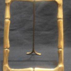Antigüedades: MARCO DE BRONCE, PORTAFOTOS, PORTARRETRATO, DE MESA. Lote 139366182