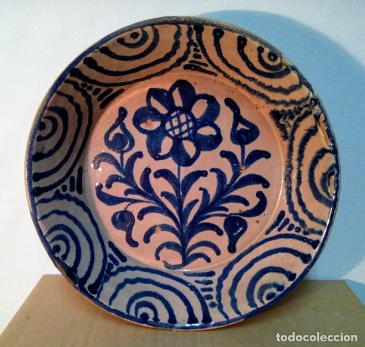 PLATO CERAMICA DE FAJALAUZA GRANADA (Antigüedades - Porcelanas y Cerámicas - Fajalauza)