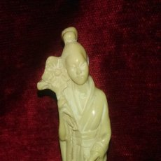 Antiquitäten - Antigua figura de mujer oriental. - 139368166