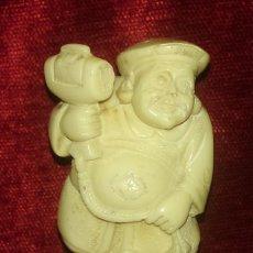 Antigüedades: ANTIGUA FIGURA DE HOMBRE ORIENTAL.. Lote 139368886