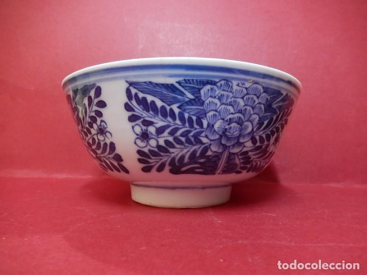 Antigüedades: Pareja de cuencos chinos, porcelana de Cantón. Siglo XIX. - Foto 3 - 139371370