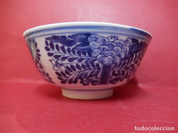 Antigüedades: Pareja de cuencos chinos, porcelana de Cantón. Siglo XIX. - Foto 6 - 139371370