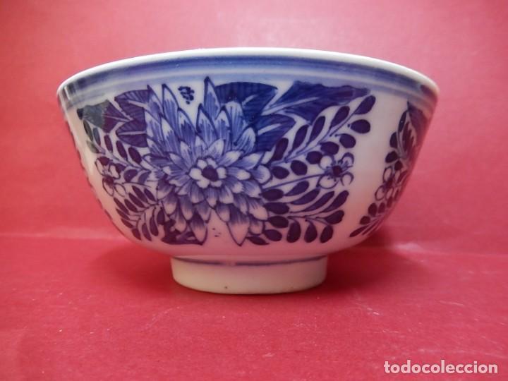 Antigüedades: Pareja de cuencos chinos, porcelana de Cantón. Siglo XIX. - Foto 8 - 139371370