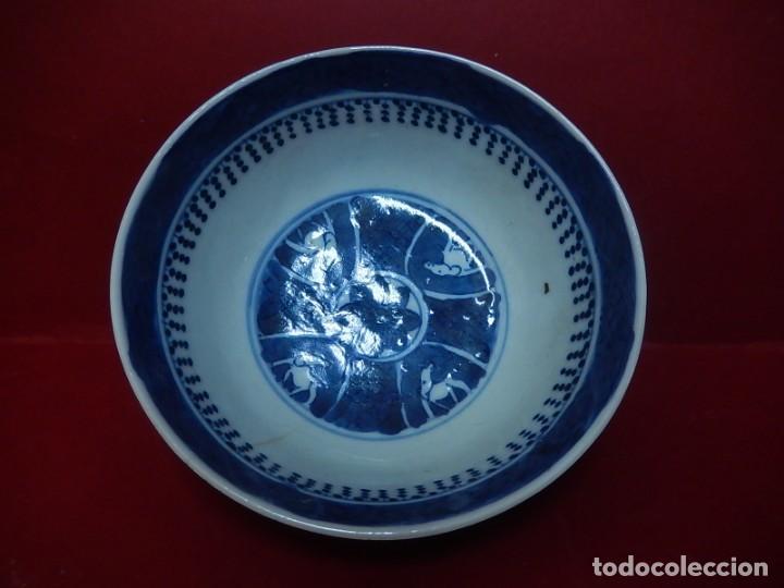 Antigüedades: Pareja de cuencos chinos, porcelana de Cantón. Siglo XIX. - Foto 10 - 139371370