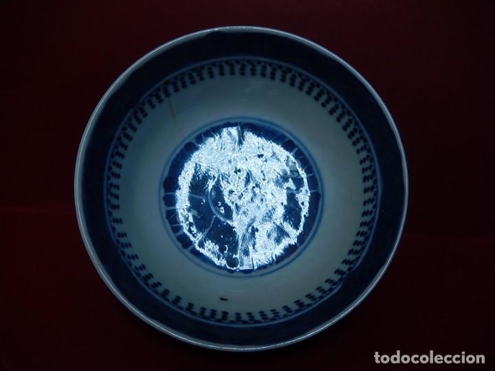 Antigüedades: Pareja de cuencos chinos, porcelana de Cantón. Siglo XIX. - Foto 11 - 139371370