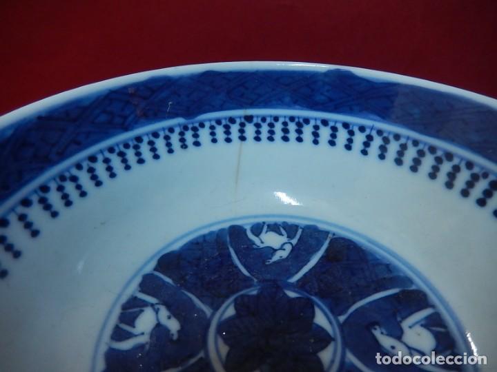 Antigüedades: Pareja de cuencos chinos, porcelana de Cantón. Siglo XIX. - Foto 12 - 139371370