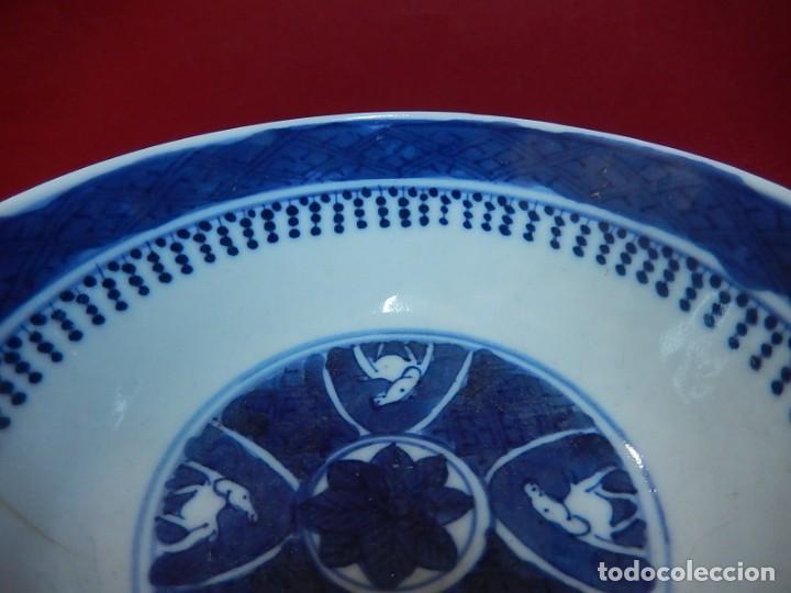 Antigüedades: Pareja de cuencos chinos, porcelana de Cantón. Siglo XIX. - Foto 13 - 139371370