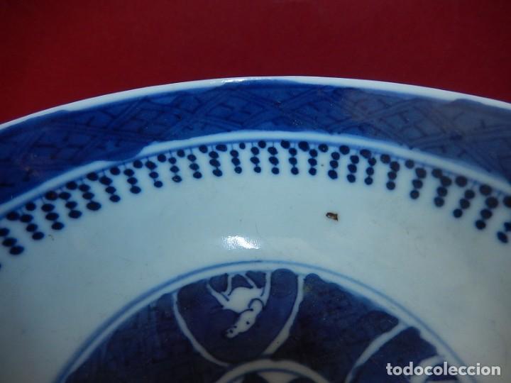 Antigüedades: Pareja de cuencos chinos, porcelana de Cantón. Siglo XIX. - Foto 14 - 139371370
