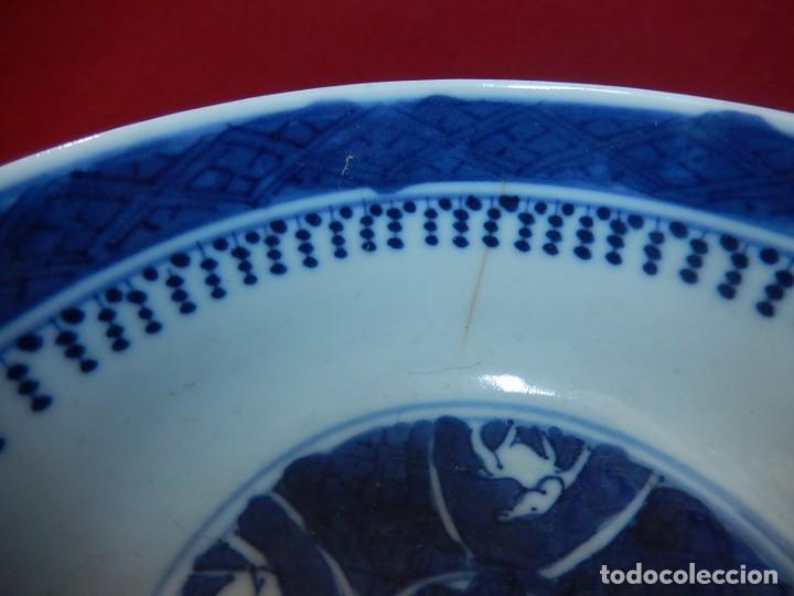 Antigüedades: Pareja de cuencos chinos, porcelana de Cantón. Siglo XIX. - Foto 16 - 139371370