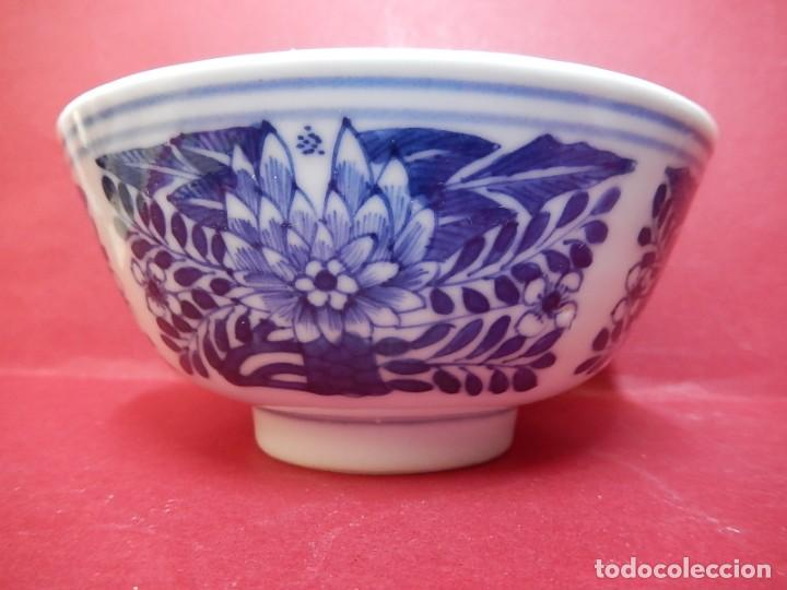 Antigüedades: Pareja de cuencos chinos, porcelana de Cantón. Siglo XIX. - Foto 19 - 139371370