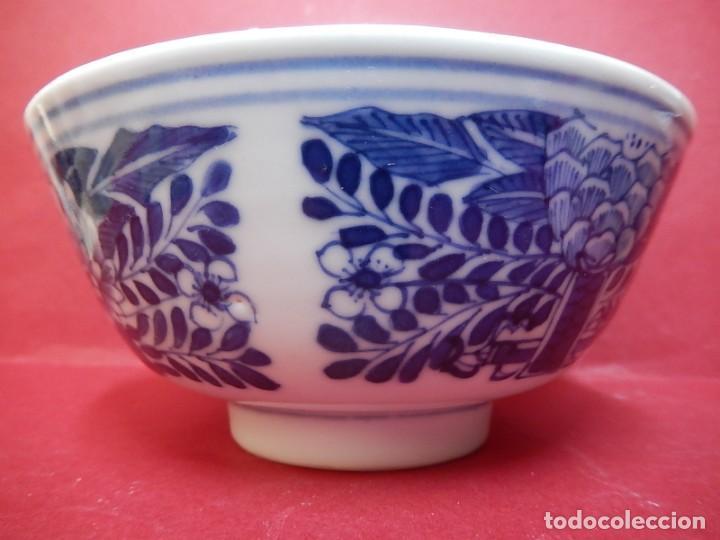 Antigüedades: Pareja de cuencos chinos, porcelana de Cantón. Siglo XIX. - Foto 20 - 139371370