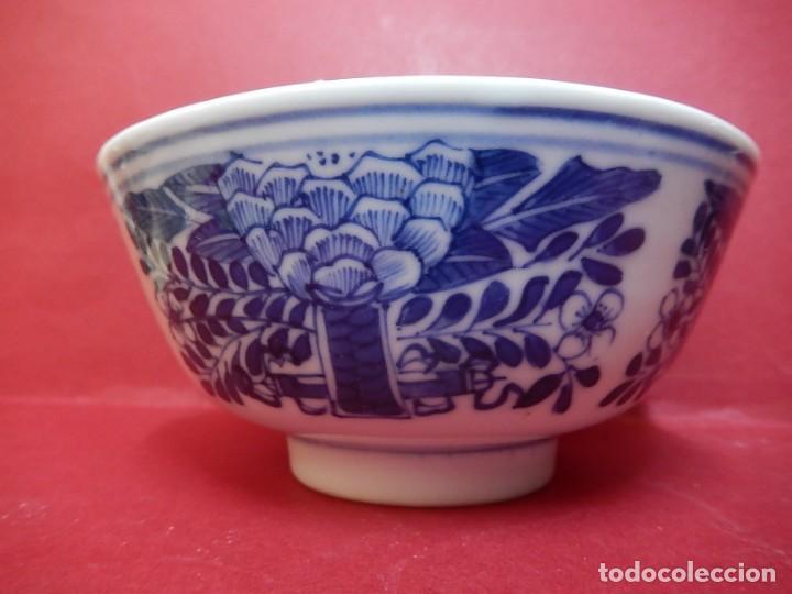 Antigüedades: Pareja de cuencos chinos, porcelana de Cantón. Siglo XIX. - Foto 21 - 139371370