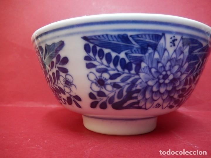 Antigüedades: Pareja de cuencos chinos, porcelana de Cantón. Siglo XIX. - Foto 22 - 139371370