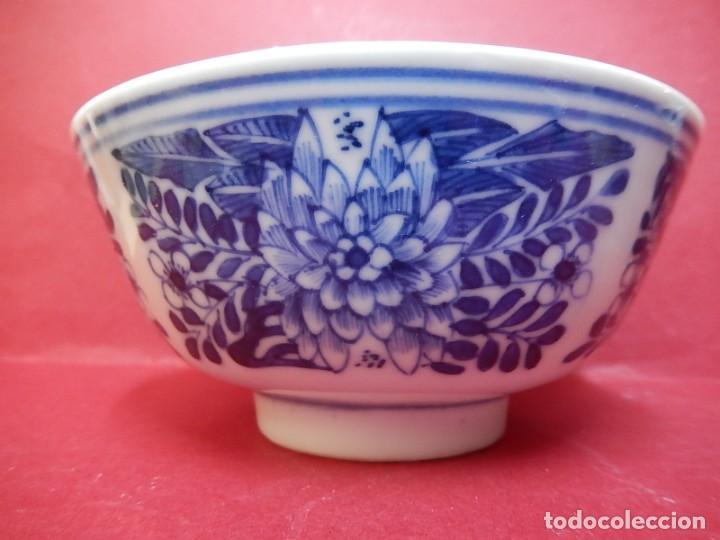 Antigüedades: Pareja de cuencos chinos, porcelana de Cantón. Siglo XIX. - Foto 23 - 139371370