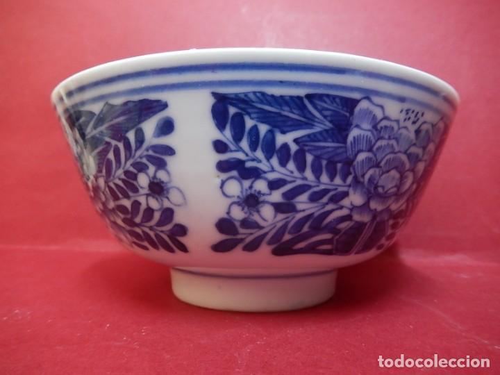 Antigüedades: Pareja de cuencos chinos, porcelana de Cantón. Siglo XIX. - Foto 24 - 139371370