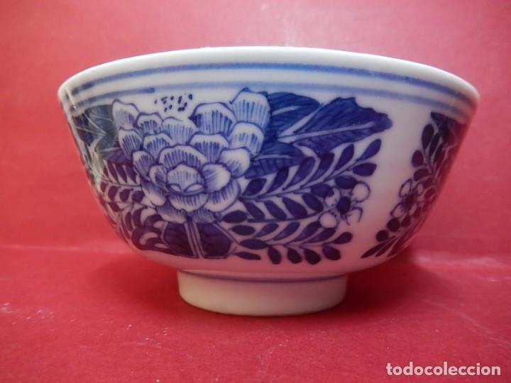 Antigüedades: Pareja de cuencos chinos, porcelana de Cantón. Siglo XIX. - Foto 25 - 139371370