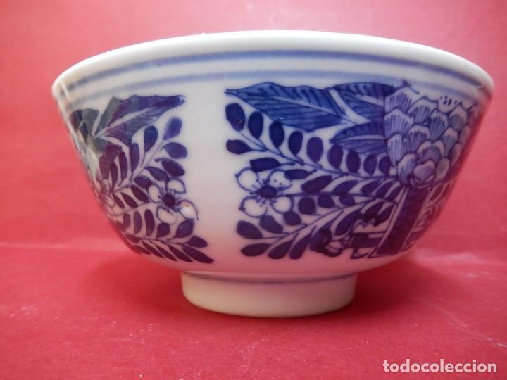 Antigüedades: Pareja de cuencos chinos, porcelana de Cantón. Siglo XIX. - Foto 27 - 139371370