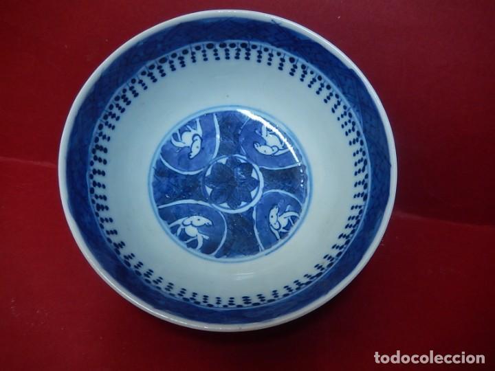 Antigüedades: Pareja de cuencos chinos, porcelana de Cantón. Siglo XIX. - Foto 30 - 139371370