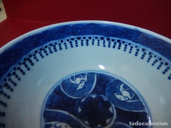 Antigüedades: Pareja de cuencos chinos, porcelana de Cantón. Siglo XIX. - Foto 31 - 139371370