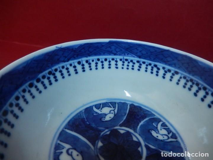 Antigüedades: Pareja de cuencos chinos, porcelana de Cantón. Siglo XIX. - Foto 32 - 139371370