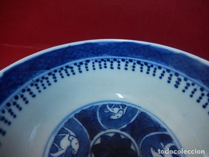 Antigüedades: Pareja de cuencos chinos, porcelana de Cantón. Siglo XIX. - Foto 33 - 139371370