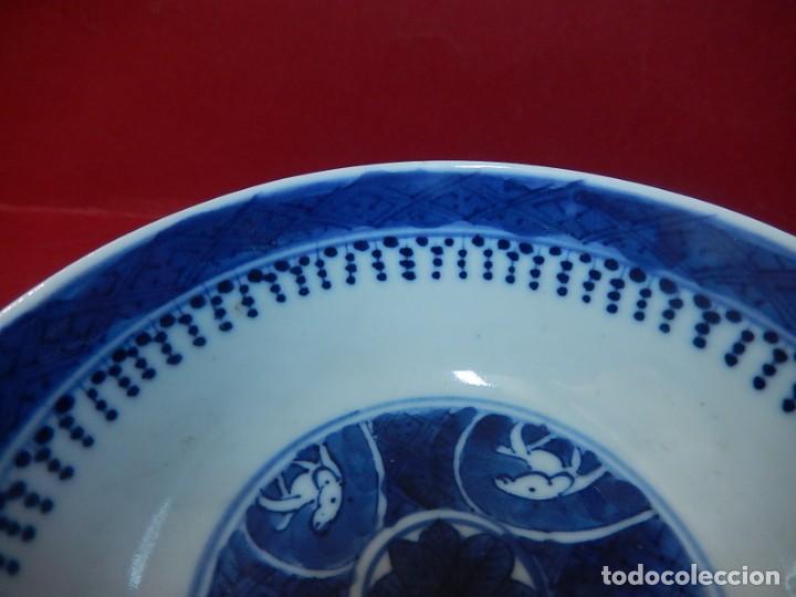 Antigüedades: Pareja de cuencos chinos, porcelana de Cantón. Siglo XIX. - Foto 34 - 139371370