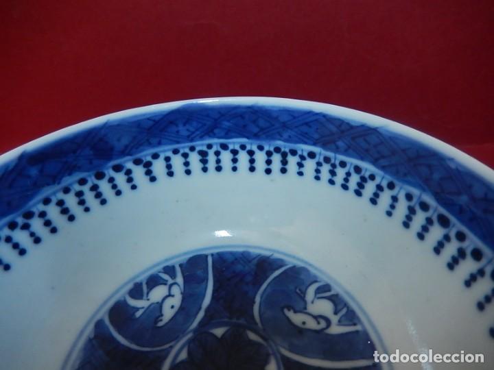 Antigüedades: Pareja de cuencos chinos, porcelana de Cantón. Siglo XIX. - Foto 35 - 139371370