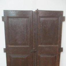 Antigüedades - Puertas de Armario - para Armario Empotrado - Madera de Ribera - Principios S. XIX - 139372014